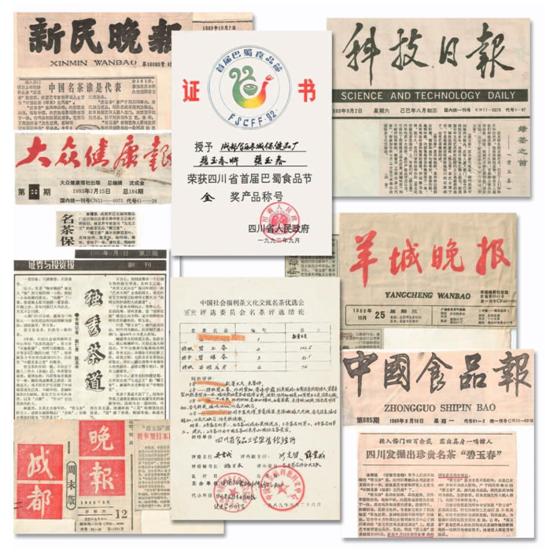 """义云高大师独创的中国名茶""""碧玉春""""和""""霸王春""""获多家媒体报道"""