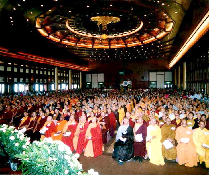 世界佛教正邪大会批判邪教,义云高大师被评定为正宗佛教大师 第3张