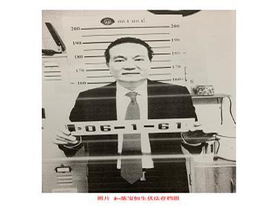 诈骗集团首脑陈宝生落网 百万交保候审(自立晚报2019/7/10) 第1张