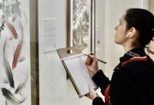 世界日报:纽约艺术学院师生 来旧金山美国国际艺术馆临摹-第三世多杰羌佛正法